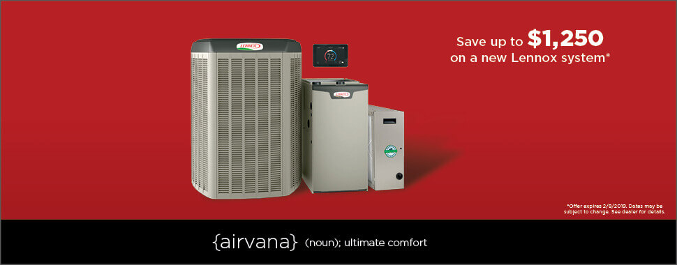 akins heating and air lennox winter promotion